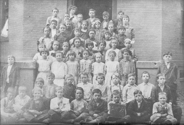 An unknown Elementary Class photo