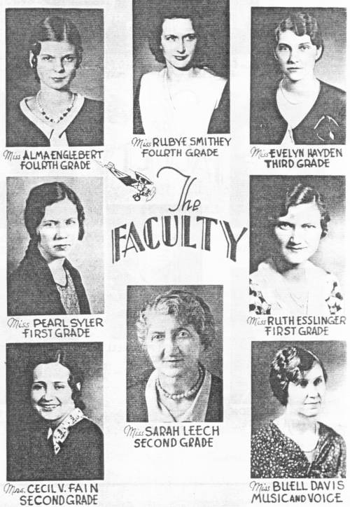 Rison Faculty 1932, Page 2