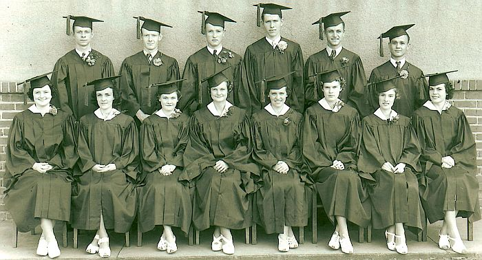 Rison School Graduating Class of 1938