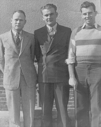 O.E. Richardson, Newell Bailey, Jimmy Jones