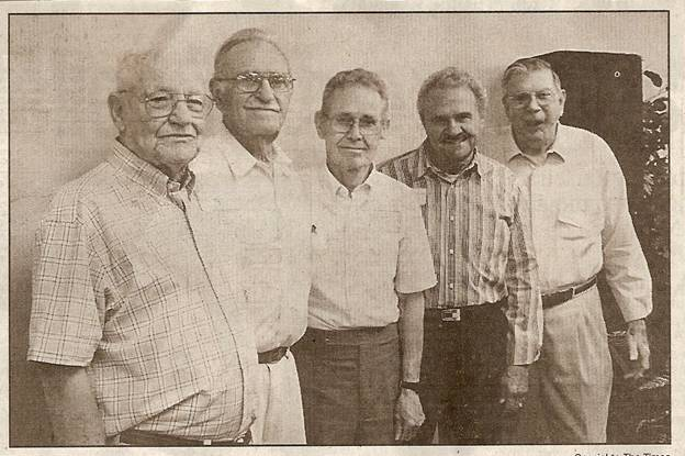 Rison Pilots of 1940 at 2006 Reunion