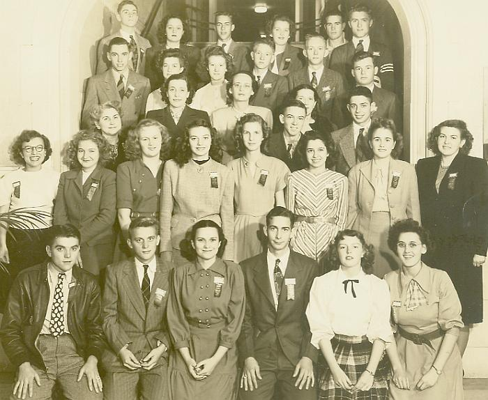 1947 Alabama Delegation to the Allied Youth National Convention at Buck Hill Falls, PA