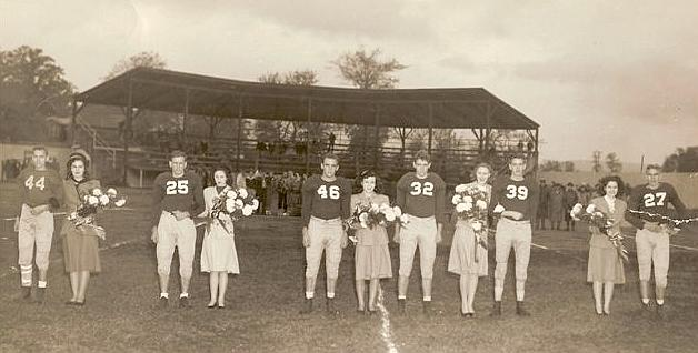 1948 - 1949 Homecoming Queen and Court