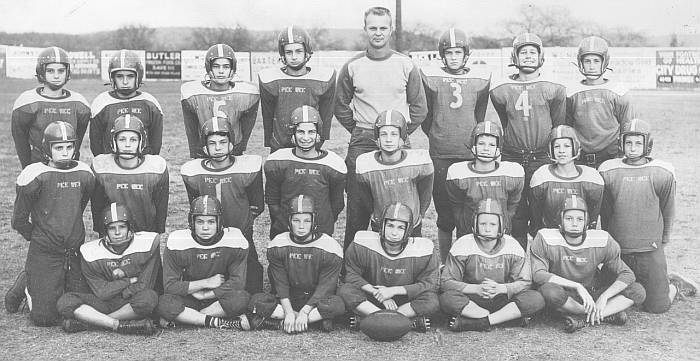 Pee Wee Football Team, Year Unknown (1950s)?