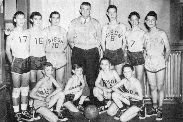 1953 Rison Jr High B Team Basketball