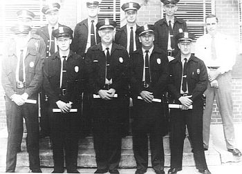 HUNTSVILLE ALABAMA POLICE DEPARTMENT Rookie Police Officer Class - Around 1956
