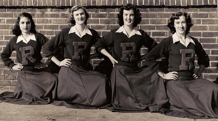 More 1950 Cheerleaders