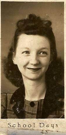 Mrs. Perry from the 1942 -1943 Yearbook
