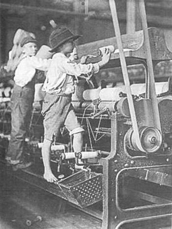 Boys in the Spinning Room