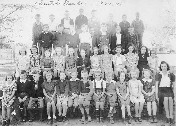Class of 1949 in 4th Grade