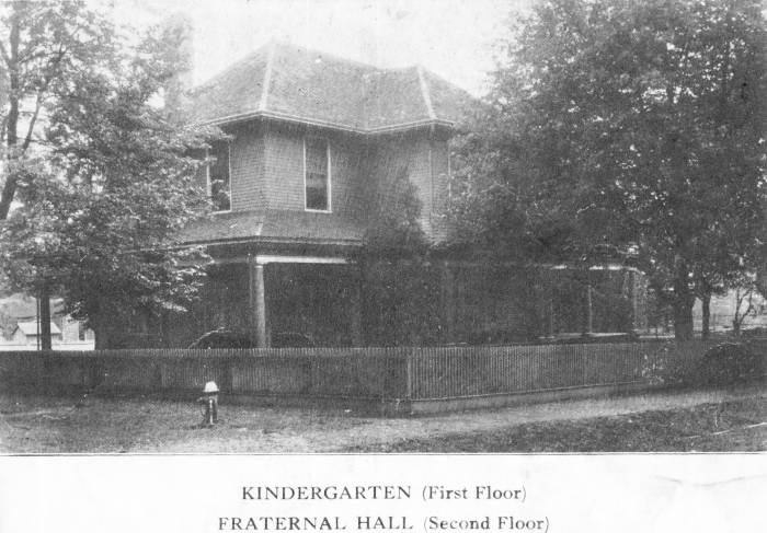 Kindergarten and Fraternal Hall of Dallas Mill Village