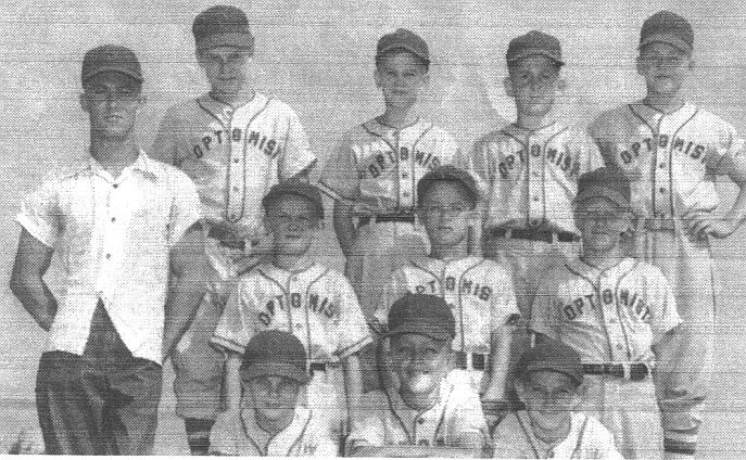 Optimist Little League Team Late '40s or Early '50s