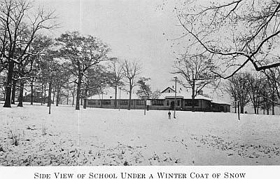 Rison School Under a Coat of Snow, 1932~33