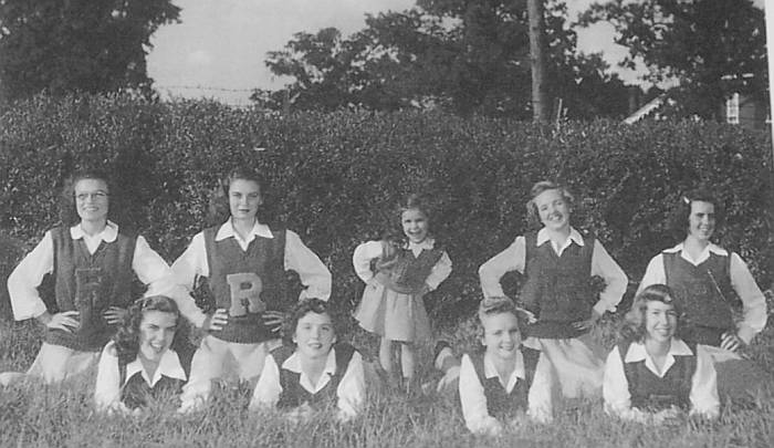 Rison Cheerleaders 1948/1949