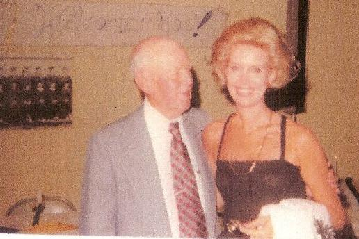 Wilma Eaton Rubenstein and Mr. Fain, 1977 Reunion